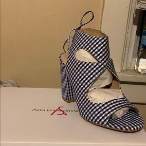 Royal Blue Sandal 9W